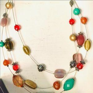 Lia Sophia beaded necklace